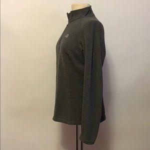 The North Face Jackets & Coats - The North Face Gray Half-Zip Fleece Jacket